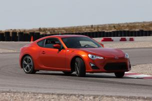The Scion FR-S.