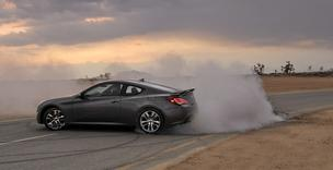 The Hyundai Genesis Coupe.