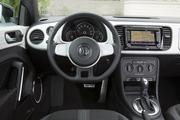 The interior of the 2012 Volkswagen Beetle Turbo.