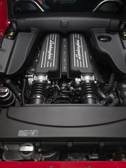 The engine of the Gallardo Super Trofeo.