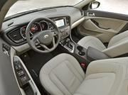 The interior of the 2011 Kia Optima.