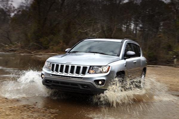 The 2011 Jeep Compass.