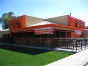The new Hooters just outside Metro Center Mall in Phoenix.