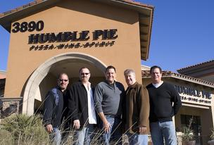 Humble Pie owners (L-R) David Dabruzzi, Patrick King, Tom Kaufman, Rich Sullivan and Tim Valencia.