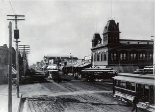 An historic photo of downtown Phoenix supplied by SRP. The urbanization of the Phoenix area has created a heat island affect that's making the whole area hotter.