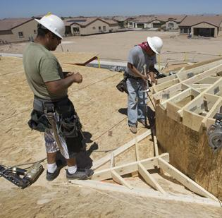 Low inventory of existing homes has boosted demand for new houses, according to the National Association of Home Builders.