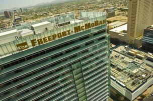 The Arizona Commerce Authority is moving into the Freeport-McMoRan building in Phoenix this weekend and will pay $40,000 a month for 15,000 square feet of office space.