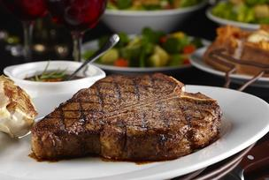 The porterhouse for two at LongHorn Steakhouse.