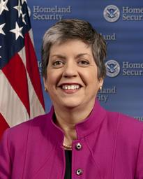 Homeland Security Department Secretary Janet Napolitano.