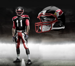 New age Cards, NFL uniforms