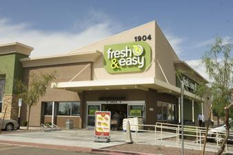 Fresh & Easy is closing 12 underperforming stores including four in Phoenix.