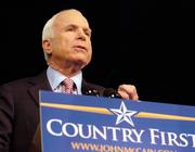 U.S. Sen. John McCain, R-Ariz., only gets a 41 percent approval rating in the PPP poll.