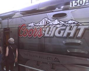 New advertising rules allow for beer ads on Metro light rail trains.