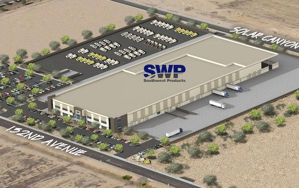 Southwest Products is planning to build this facility in Surprise, which the city believes will be about a $10 million capital investment. The facility is scheduled to open in late 2013.