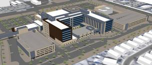 A rendering of the The West Valley's Banner Estrella Medical Center.
