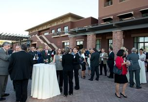 More than 500 guests attended the Phoenix Business Journal's third annual Most Admired CEOs event Thursday night. The evening kicked off with an outdoor reception.