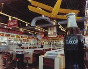 The interior of another Chicago-area Portillo's. The restaurants are typically at least 7,000 square feet.