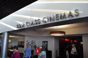 The entrance to the Star Class Cinemas on the second level where adult drinks are served and tickets cost a little more.