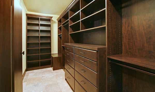 If you're looking for spacious closets, you'll find them in the Triangle.