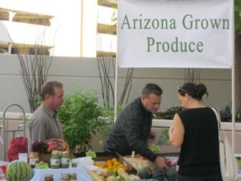 As a perk for its employees, St. Joseph's Hospital and Medical Center holds a farmers market every other week. Scottsdale Healthcare is following suit holding two farmers markets at each hospital campus to promote local products.