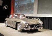 A bidding war erupted over this Mercedes-Benz gullwing.