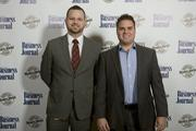 AT&T employees Randall Klemisch (left) and Jason Barratt.