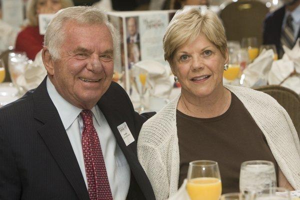 Lifetime Achievement award winner Dr. Thomas Minas with his wife Suzanne.