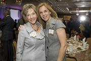 Honoree Debbie Johnson, right, president and CEO of the Arizona Lodging and Tourism Association, with Sherry Henry.