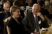 Barbara Barrett and her husband, former Intel Corp. Chairman Craig Barrett.