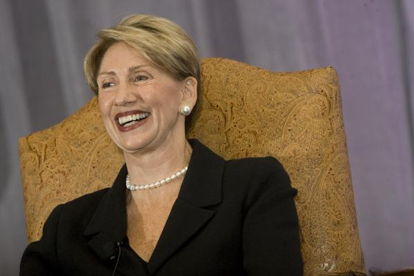 Lifetime Achievement Honoree Barbara Barrett at Tuesday's Most Admired CEOs event.