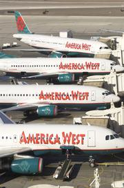 1988: America West opens its own hangar and technical support facility, bringing all maintenance and painting in house. The airline provides child care service and opens an on-site medical clinic for employees. It serves 43 cities and employs 7,000.
