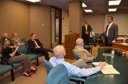 Arizona Technology Council CEO Steve Zylstra speaks during the ATC's annual legislative day at the Arizona Capitol.
