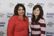 BMO Harris' Nancy Acuna (left) and Sanela Trto.