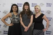 Jenn Raj, Caroline Hetyei, April Salerno (left-right) from Homeowners Financial Group.