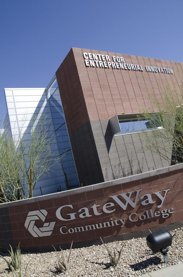 The new GateWay Community College Center for Entrepreneurial Innovation.