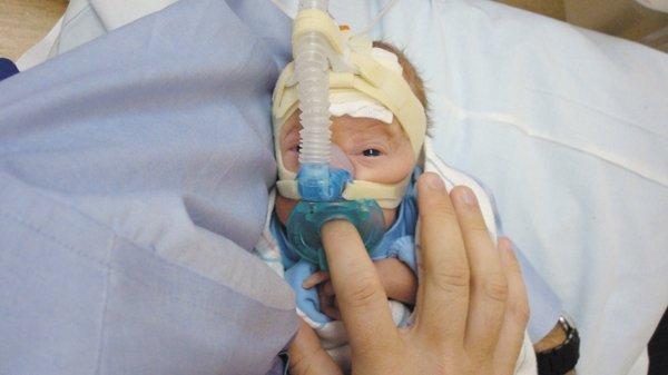 Caden Schlueter was born weighing 1 pound, 12 ounces.