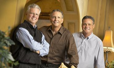 The three Darling brothers, Steve, Bill and Bob, recently celebrated the company's 25-year anniversary.