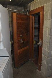 A built-in meat locker.