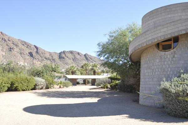 The David and Gladys Wright House, designed by Frank Lloyd Wright, is back on the market after an unknown buyer dropped a bid for the $2.38 million property in Phoenix.