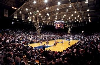 Duke University, which plays basketball in Cameron Indoor Stadium, is the top revenue producer in college basketball.