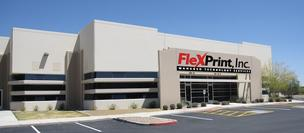 FlexPrint is planning to move into this 40,000-square-foot headquarters in Mesa by the end of the year.