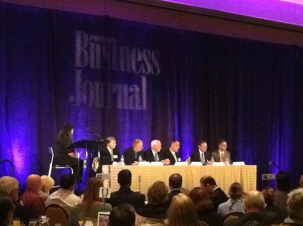 The Phoenix Business Journal's Health Care of the Future roundtable took place Wednesday morning in Phoenix.