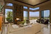 The home offers spectacular views of much of the north Valley.