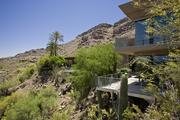 The home rests on the north face of Mummy Mountain in Paradise Valley.