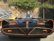 """Since """"Batman"""" went off the air, the Batmobile has been featured on numerous television and movie sets."""