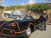 "In 1965 at the request of producers for the upcoming ""Batman"" show, Barris transformed the Lincoln Futura concept car into what is now widely recognized as the original and iconic crime-fighting vehicle."