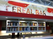 The cereal bar is one of Infusionsoft's fun building additions for employees to have fun at work.