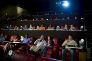 The AMC Esplanade 14 recently underwent renovations that feature in-seat dining, and has five auditoriums, including the one pictured, that restricts patrons to age 21 and older.