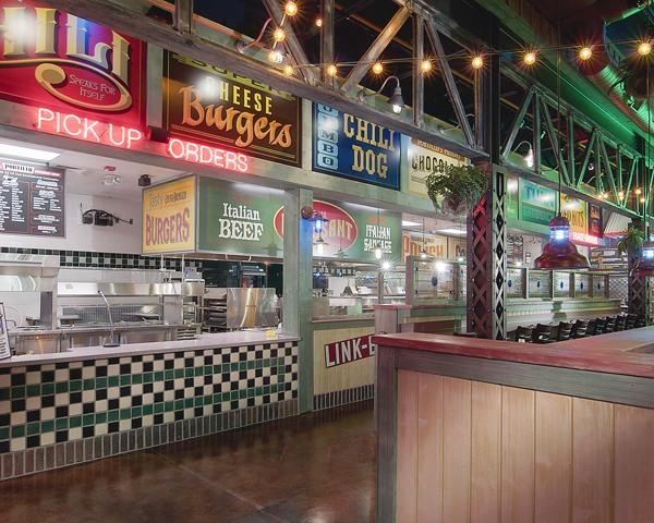 A view into the kitchen of a Portillo's Hot Dogs in Illinois. The company is planning several Phoenix-area locations.