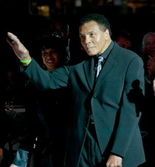 Legendary boxer Muhammad Ali is the namesake of the Muhammad Ali Parkinson Center at St. Joseph's Hospital & Medical Center in Phoenix.
